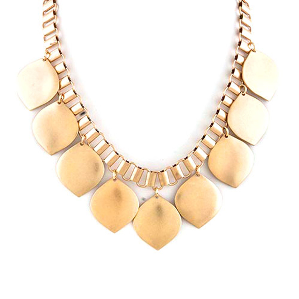Golden Leaves Necklace