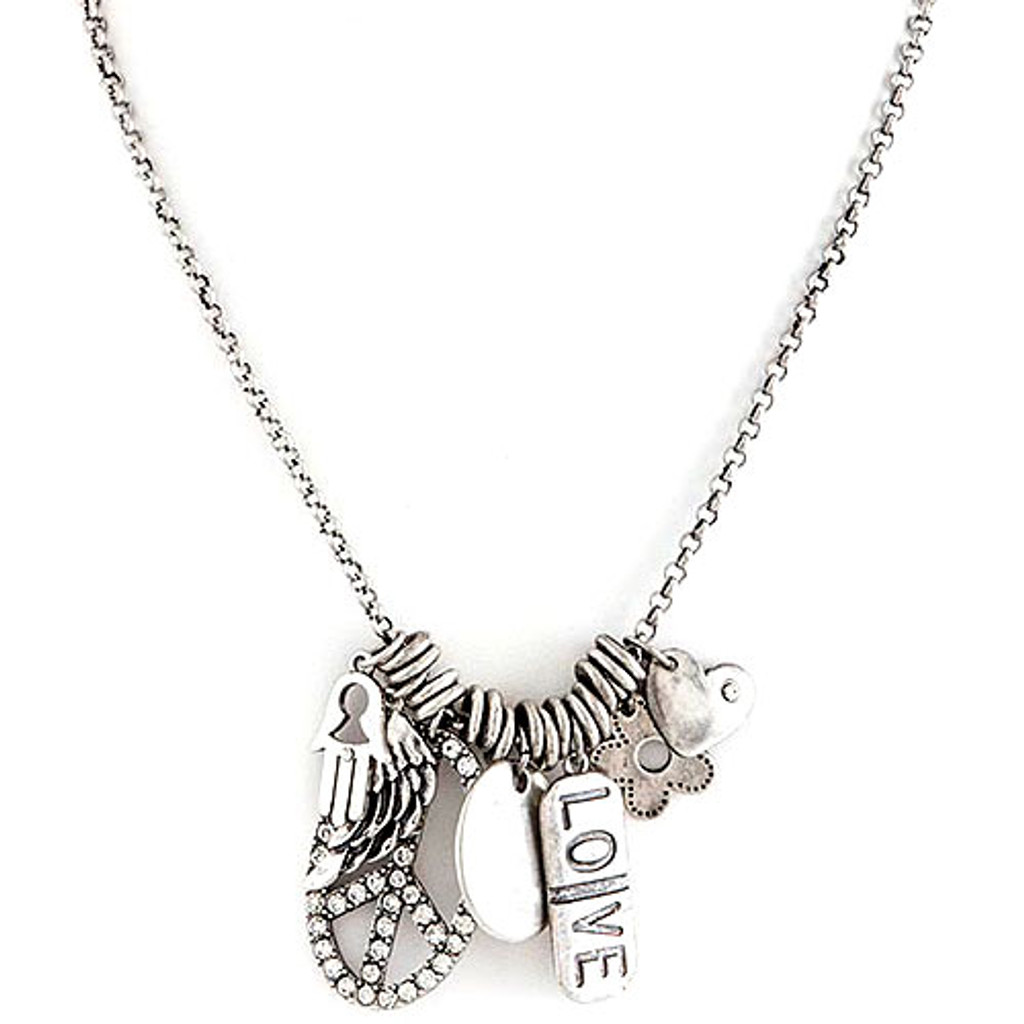 Good Karma Charm Necklace