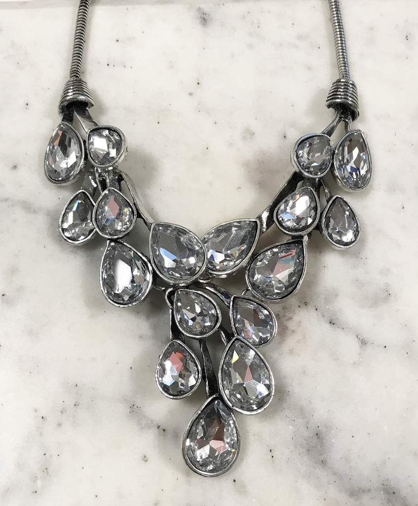 Crystal Vine Necklace