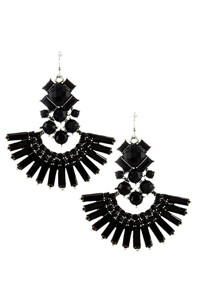 Baroque Fan Earring