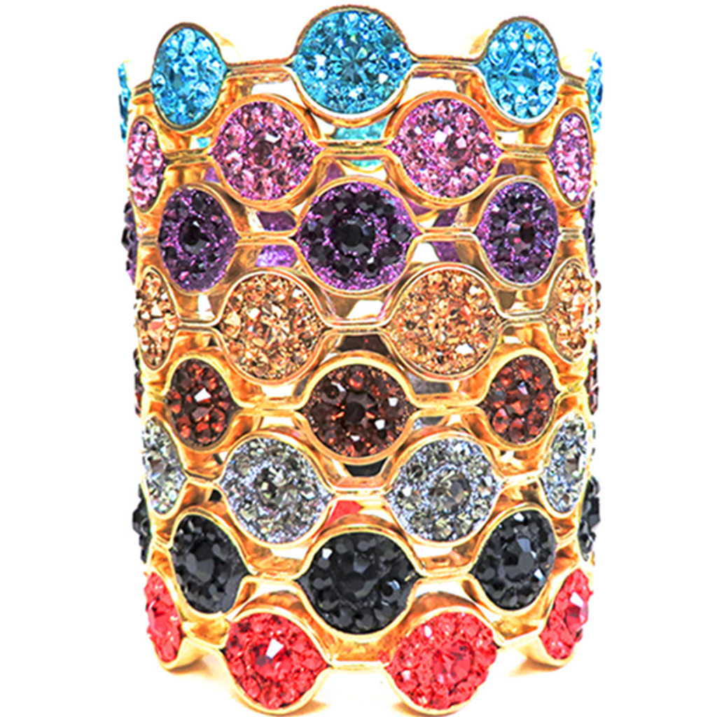 Rock Candy Crystal Bangles G-   (As seen in Oprah magazine)