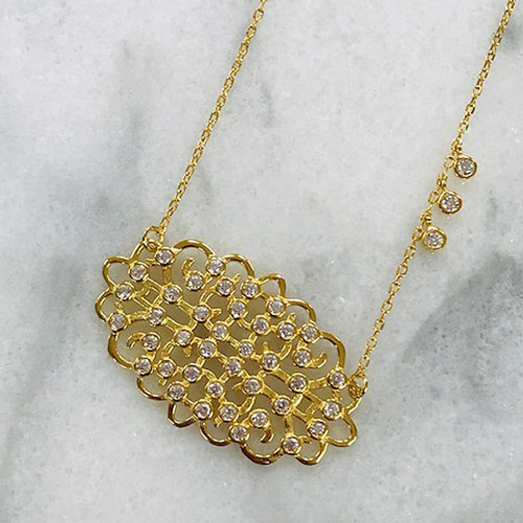 Kyra L's Filigree Necklace