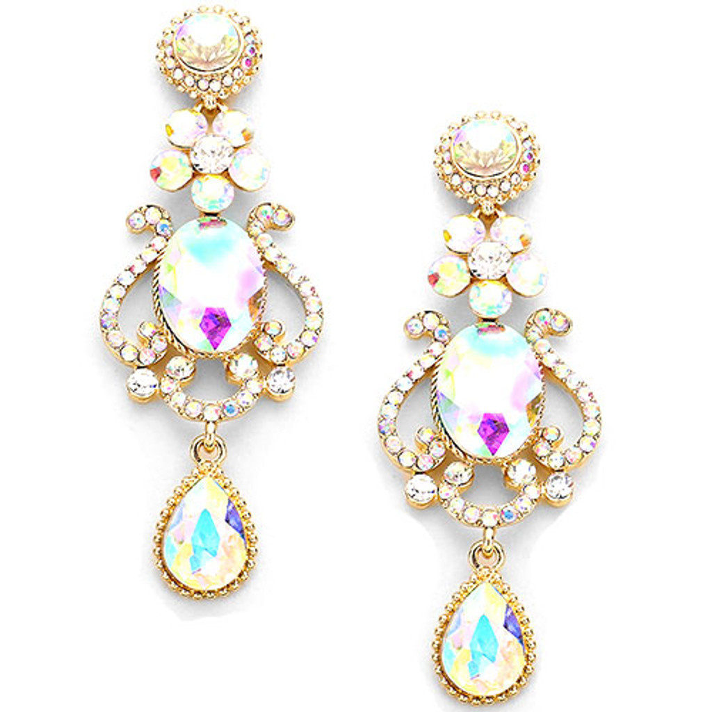 Aurora Borealis Magnificent Evening Earring