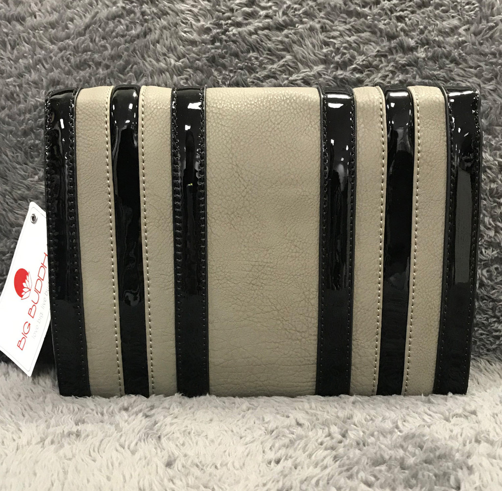Big Buddha's Gray Temple Cross Body
