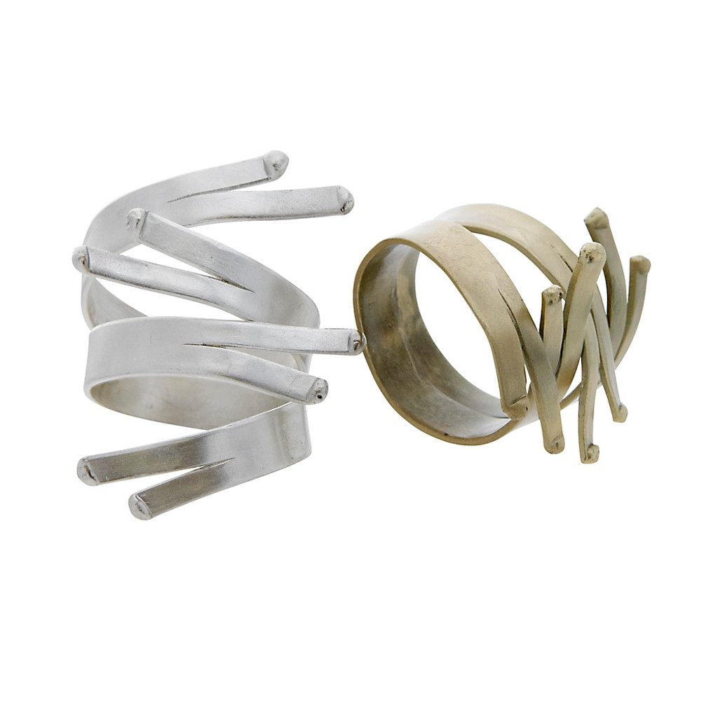 Modern Interlock Ring