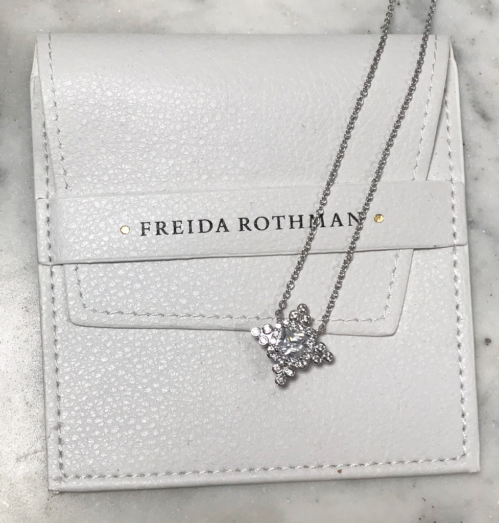 Freida Rothman's Silver Starlight Necklace
