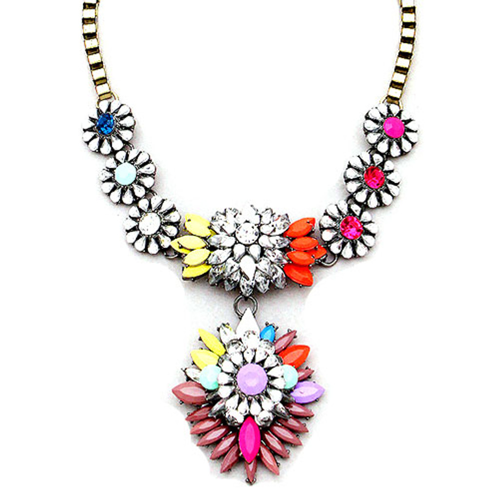 Kaleidoscope Gem Necklace