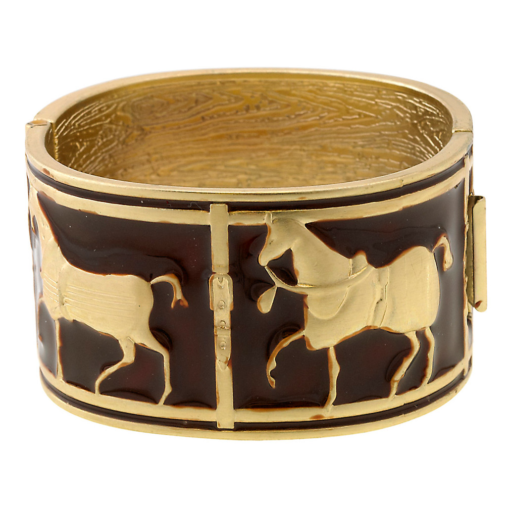 Off to the Races Horse Cuff