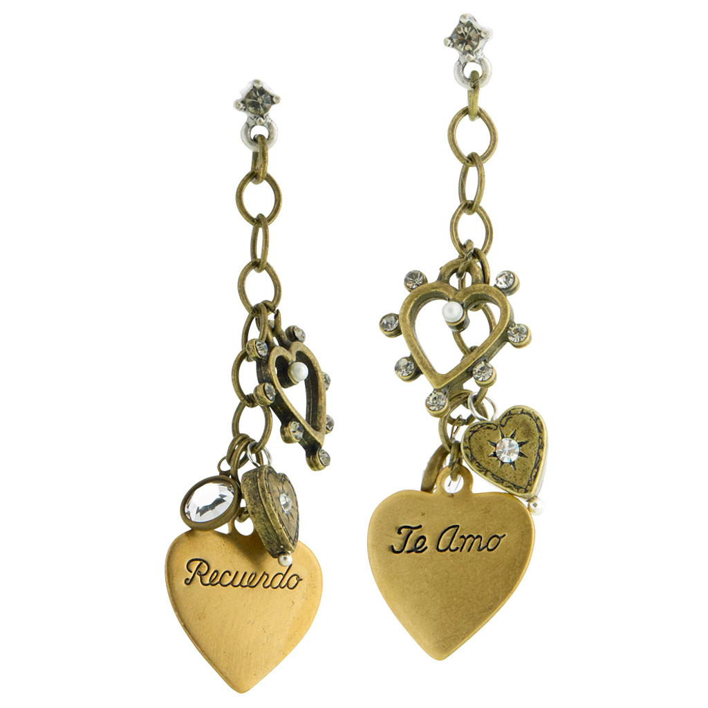 Love Charm Dangle Earrings