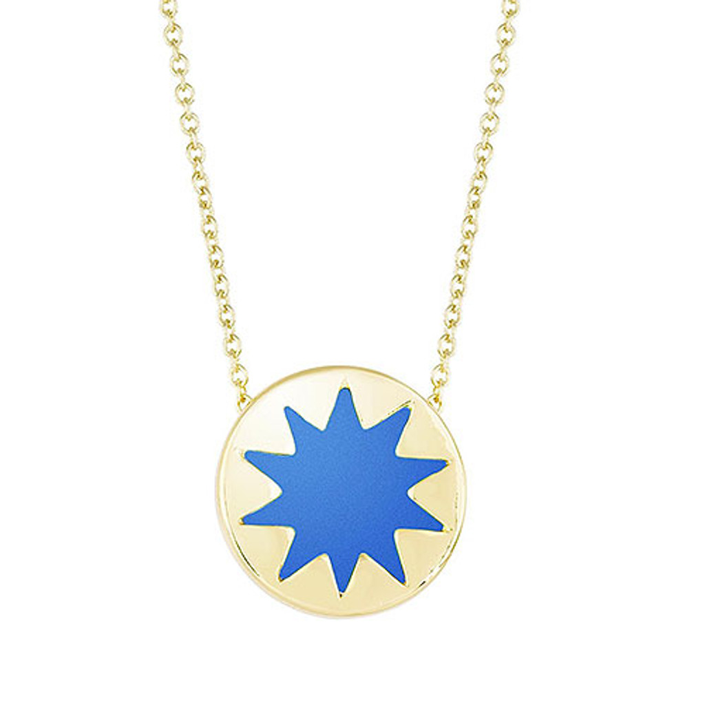 House of Harlow Mini Sunburst-Cobalt