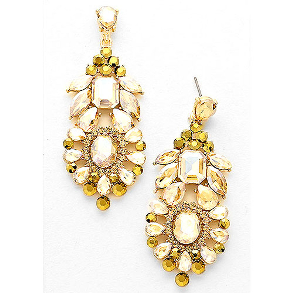 Belle of the Ball Topaz Statement Earring