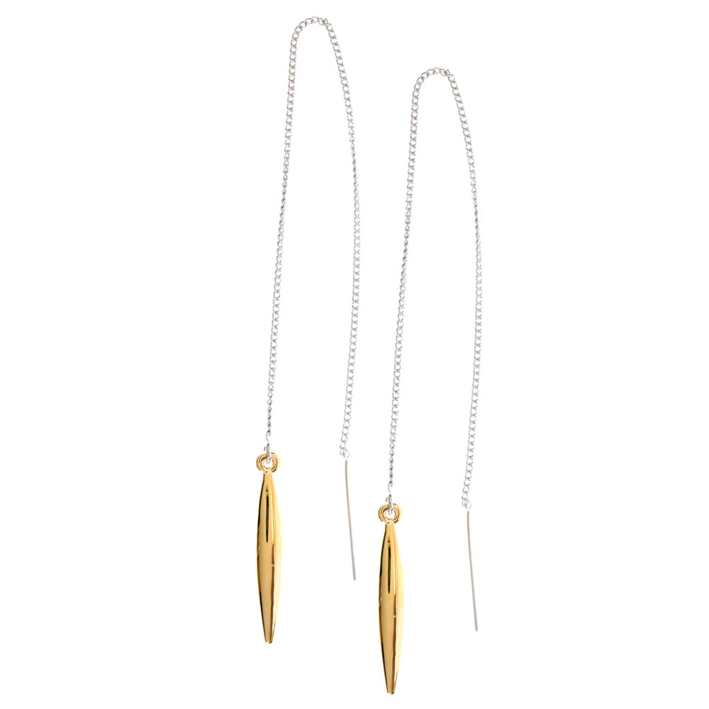Simple Gold Accent Dangle