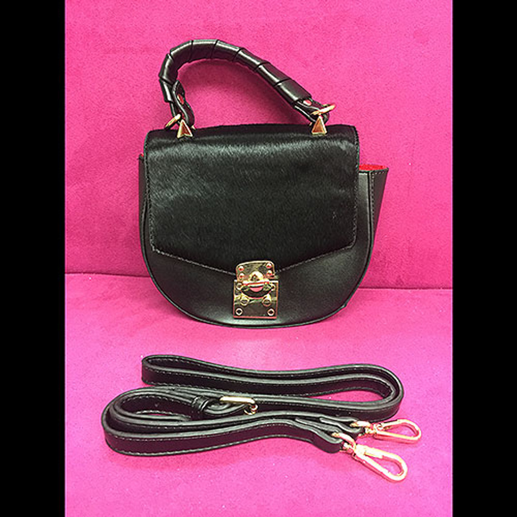 Mini Haircalf Lady Bag By Sondra Roberts