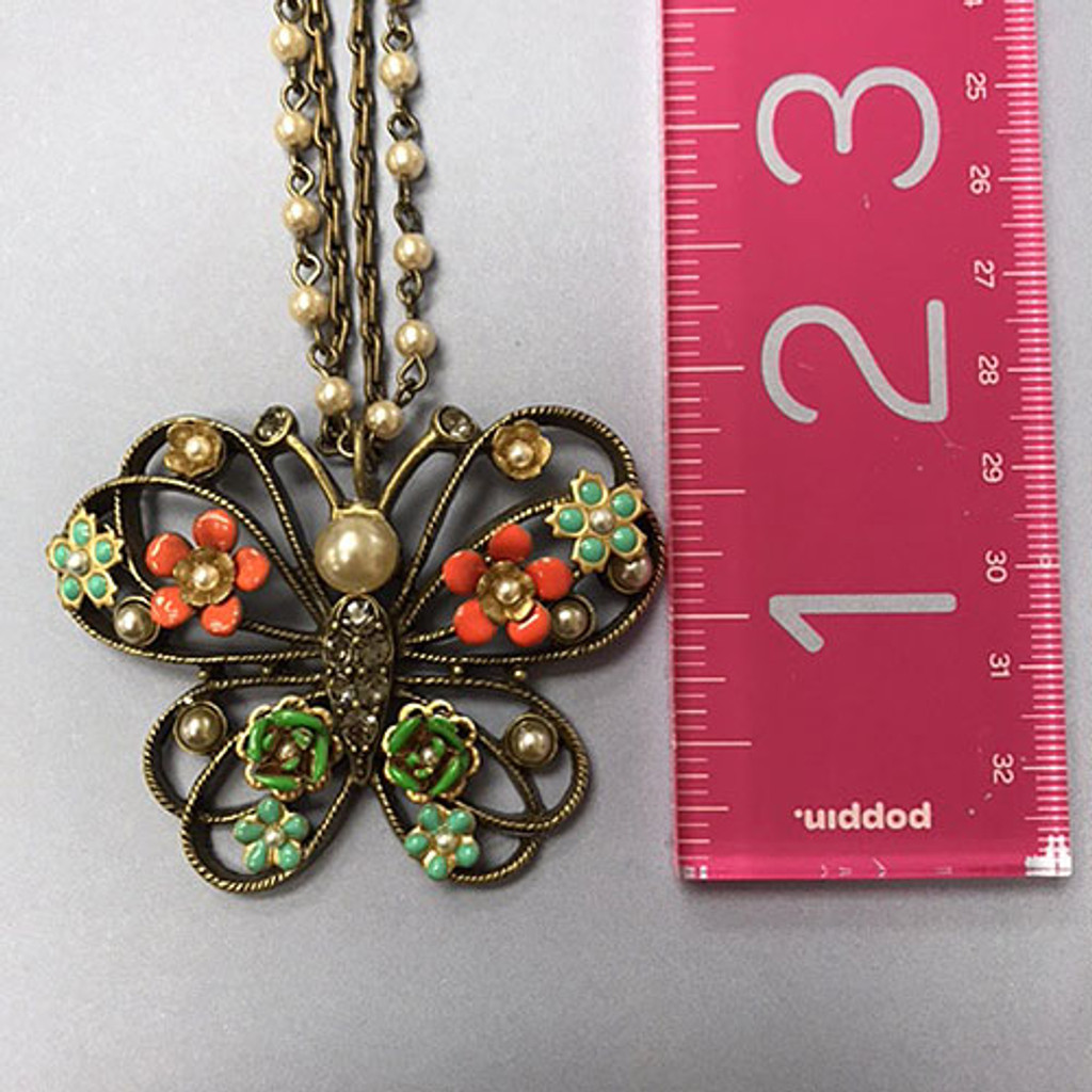 Queen Butterfly Necklace