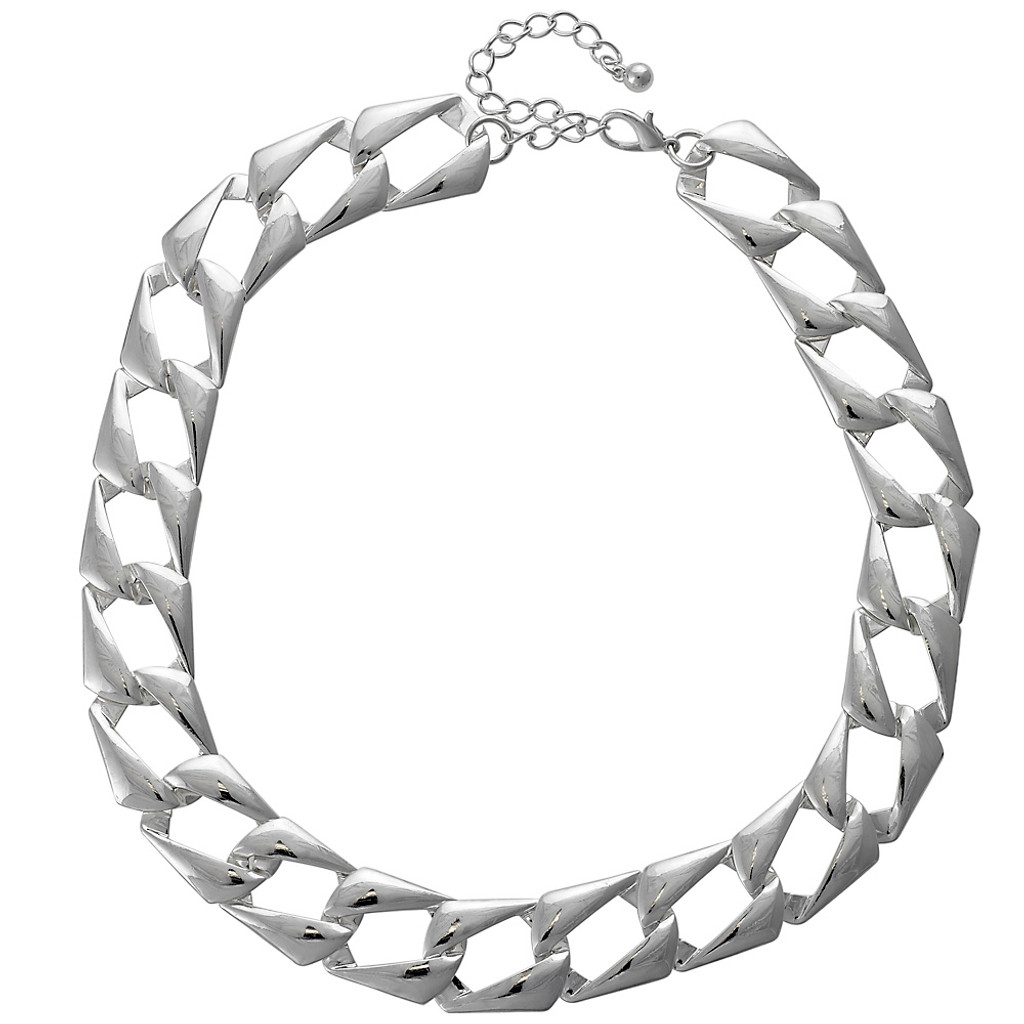 Status Chain Necklace in Silver