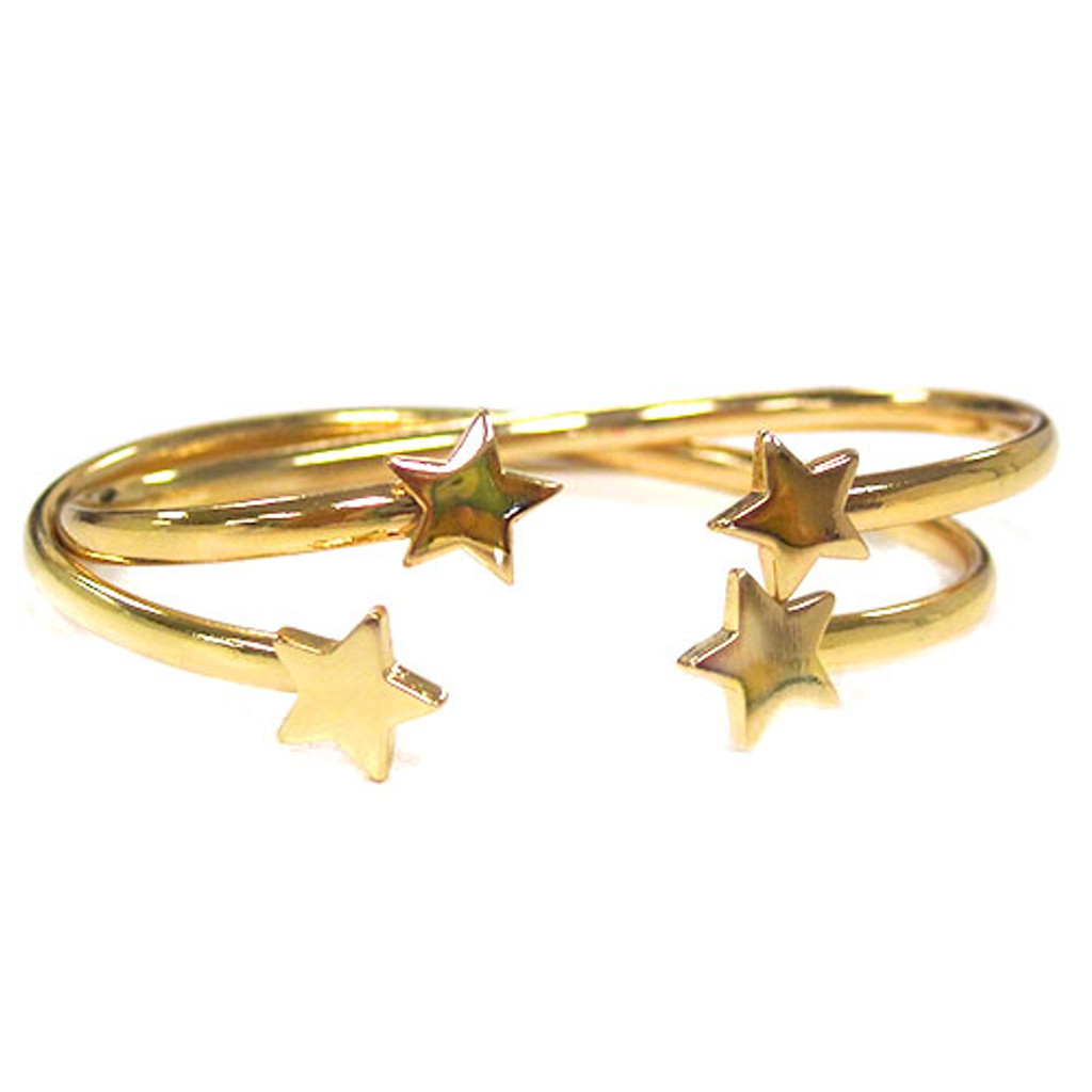 Gold Star Tipped Bracelets
