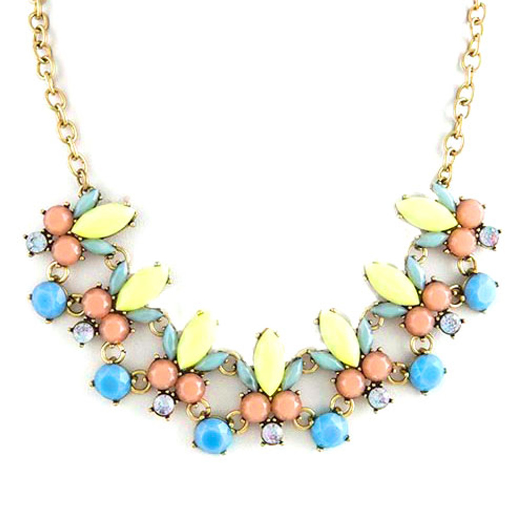 Minty Fresh Gems Necklace