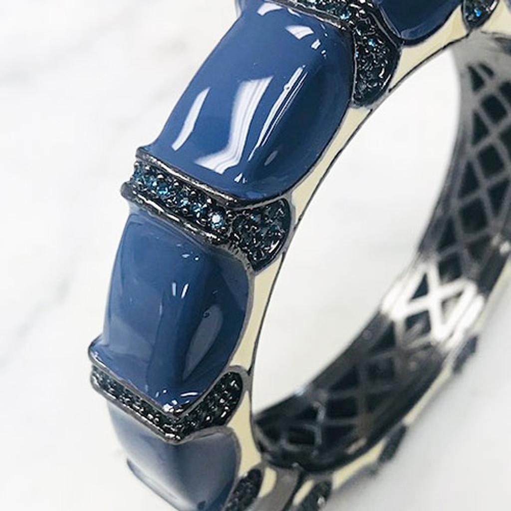 The Boca Raton Cuff Blue