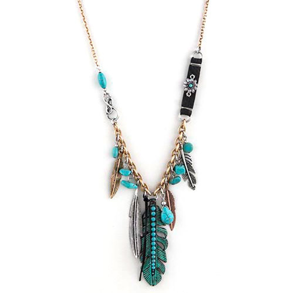 Vintage Finished Tribal Charms necklace