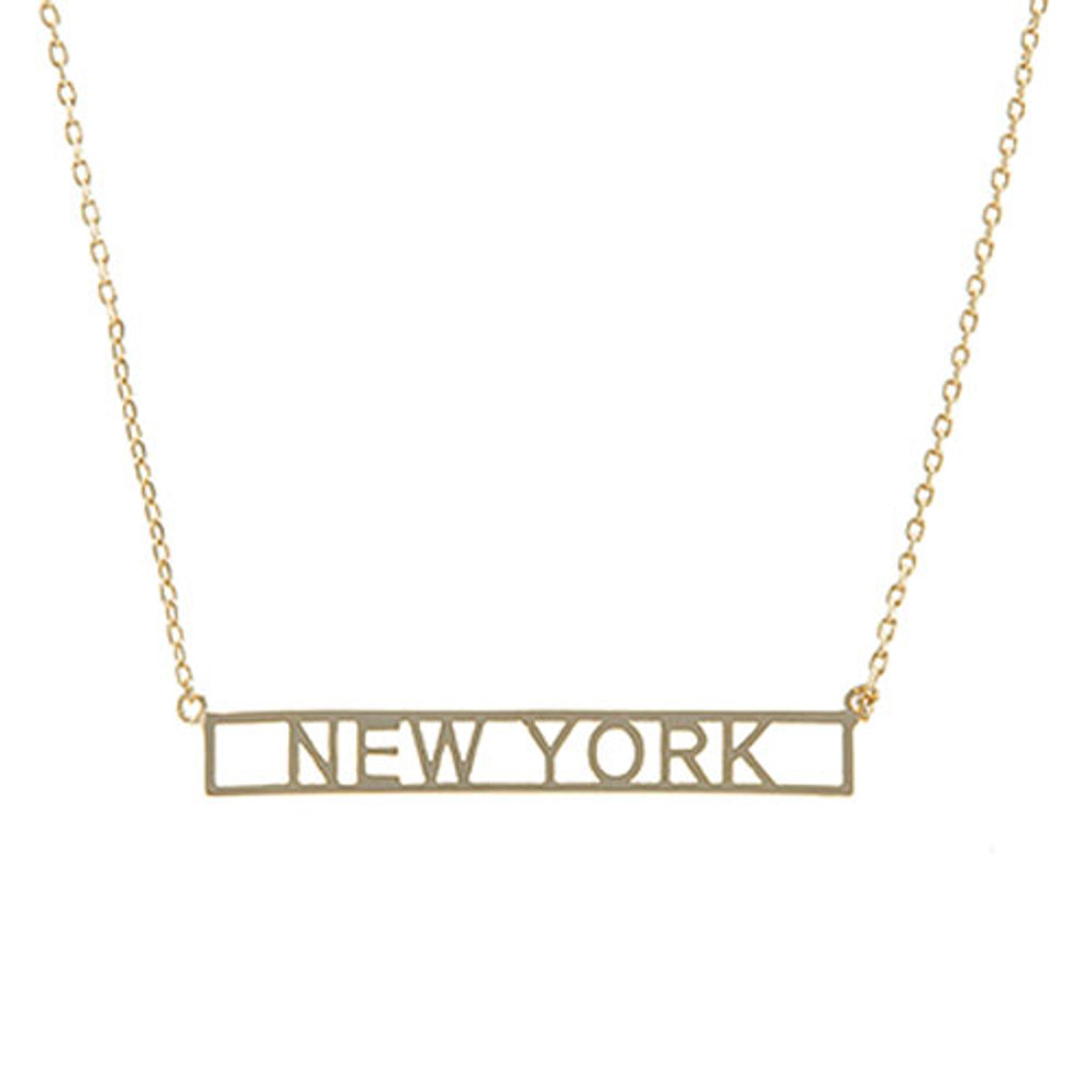 Coast to Coast Cut Out Necklace