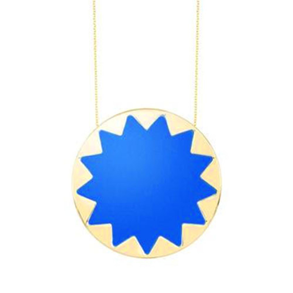 House of Harlow Large Starburst-Cobalt