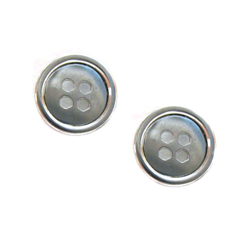 """Cute as a Button"" Earring"