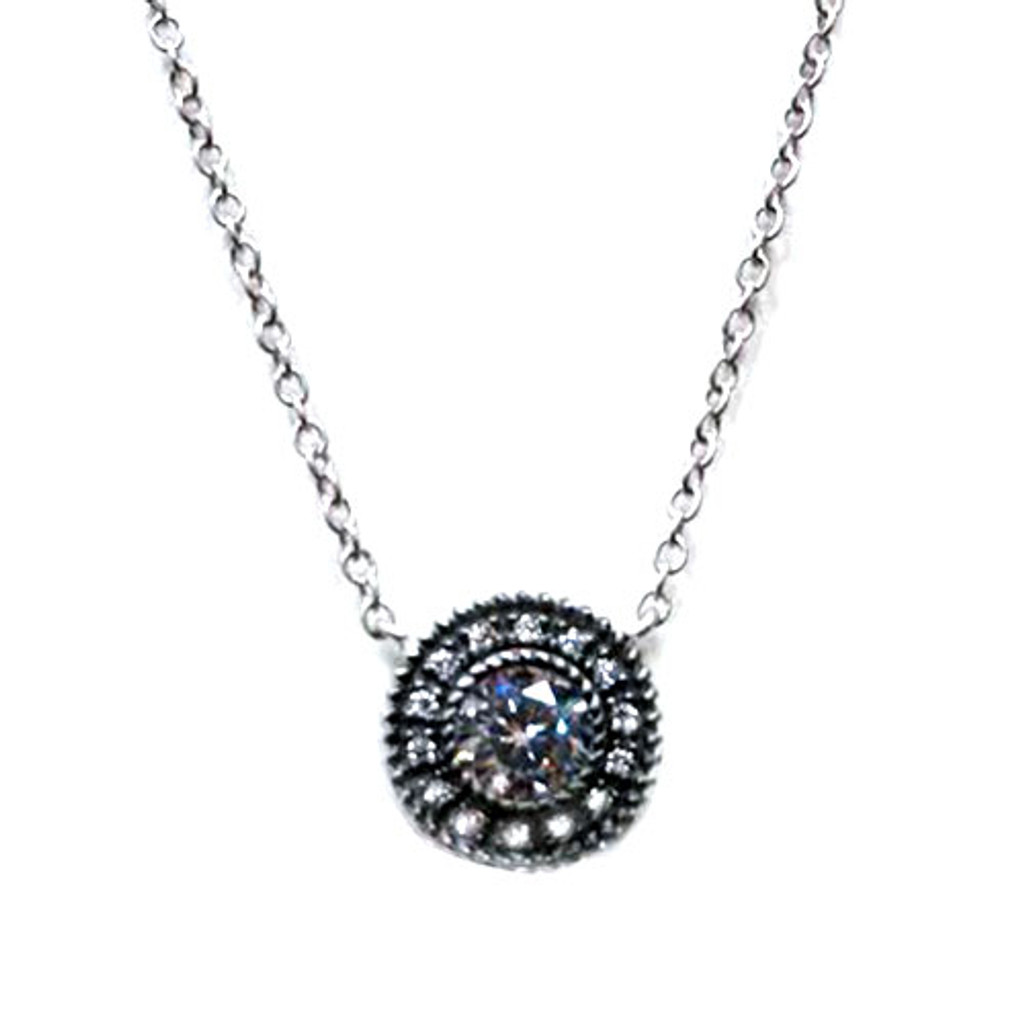 Freida Rothman's Off To The Hamptons Silver Necklace