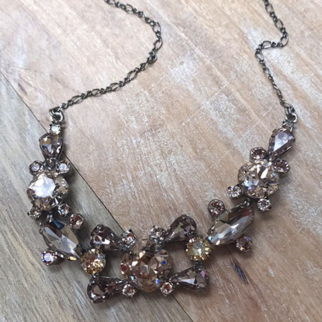 Sorrelli Blushing Bride Crystal Necklace