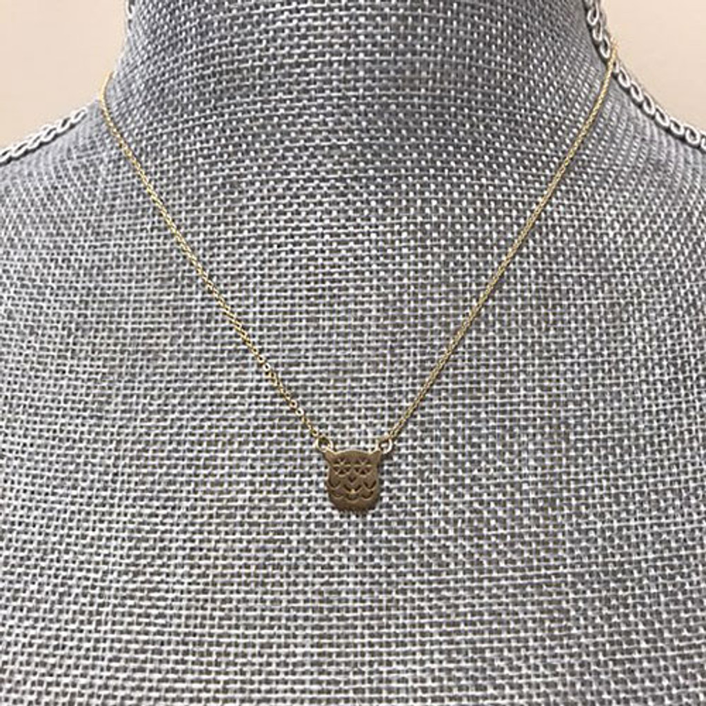 Lil' Owl Necklace