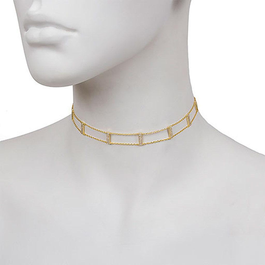 The Kylie Vermeil Choker