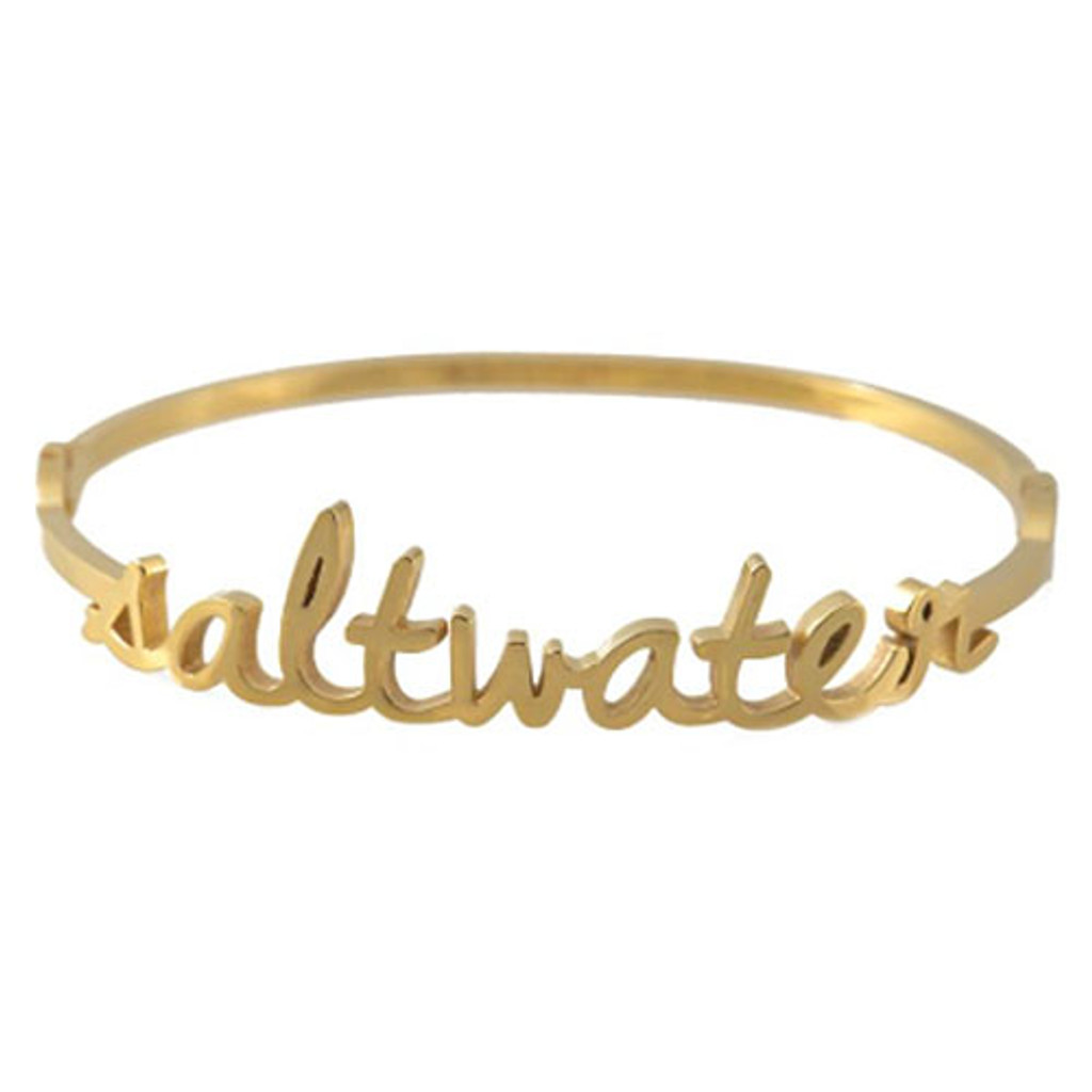 Wanderlust Saltwater Bangle