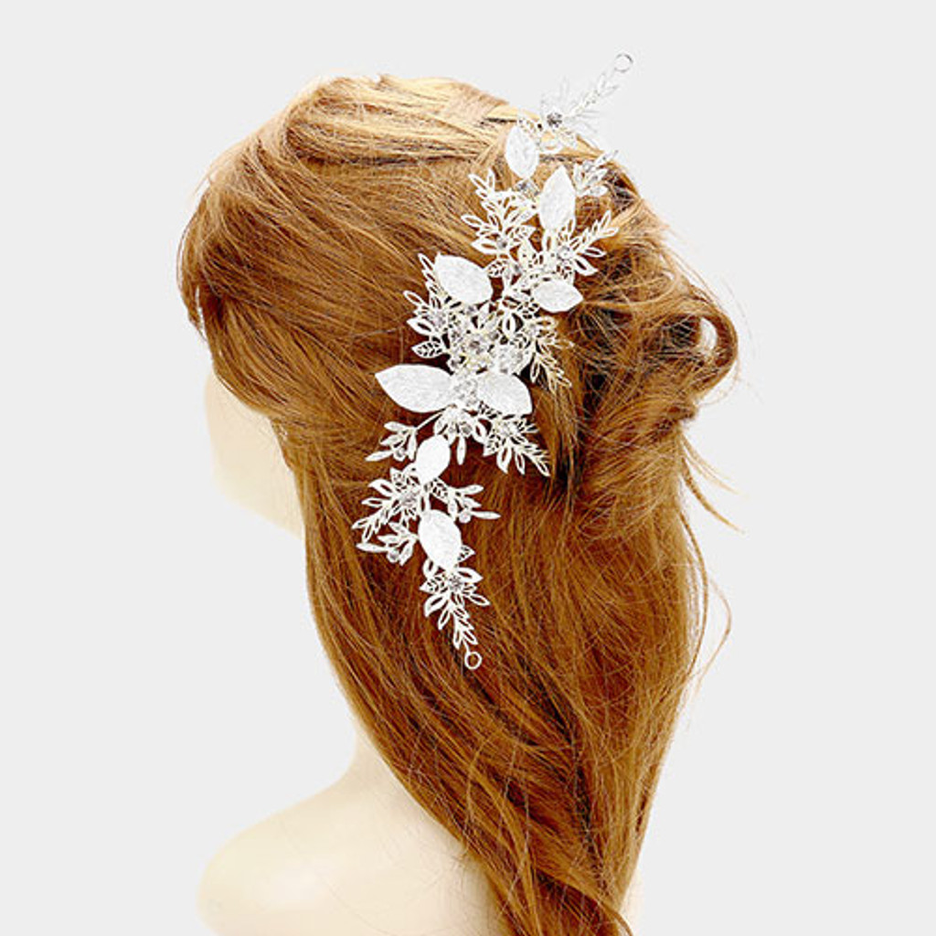 Winter Wonderland Wedding Hair Vine