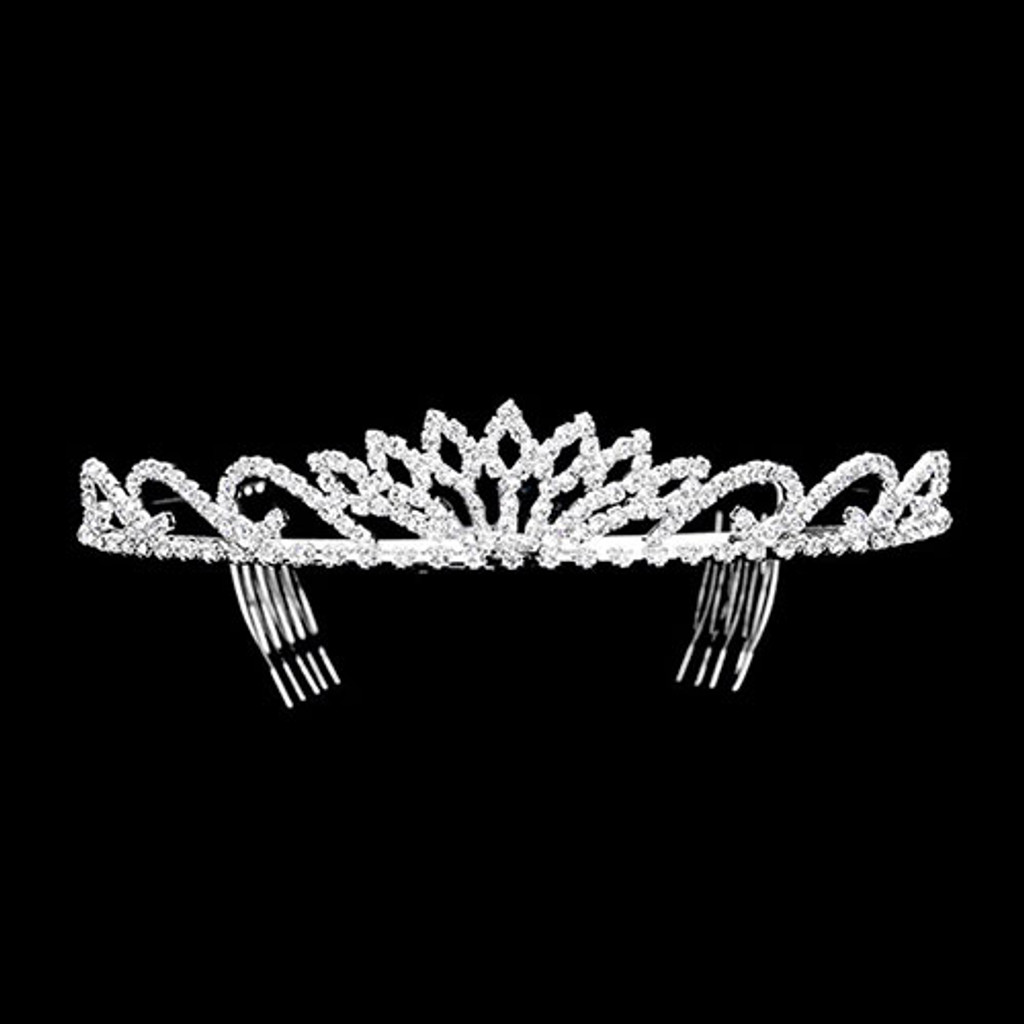 """All Eyes On Me"" Crystal Tiara"