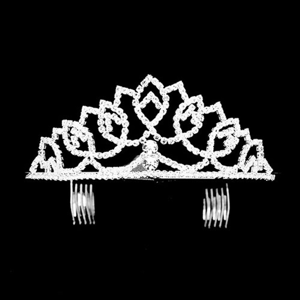 The Audrey Cubic Zirconia Tiara