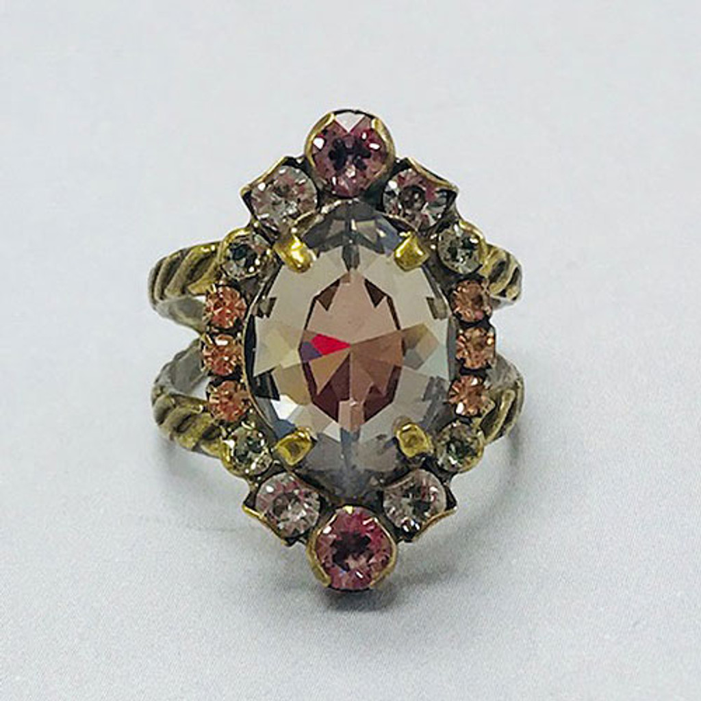 Sorrelli Washed Pastels Marquis Ring