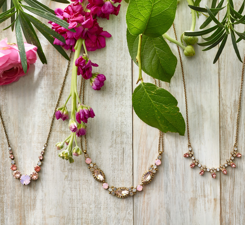 Sorrelli Beyond the Garden of Peonies Necklace