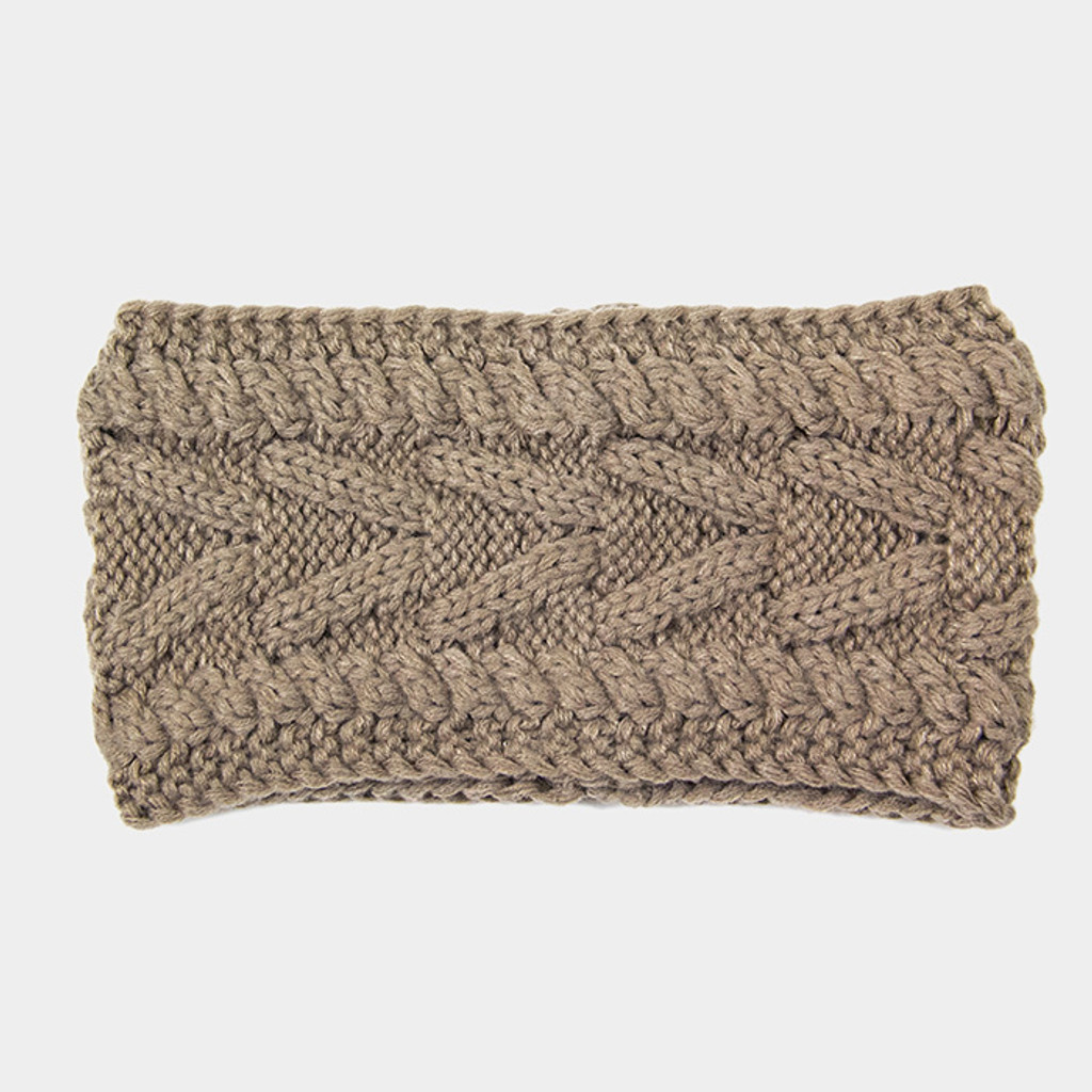 Classic Cable Knit Headbands