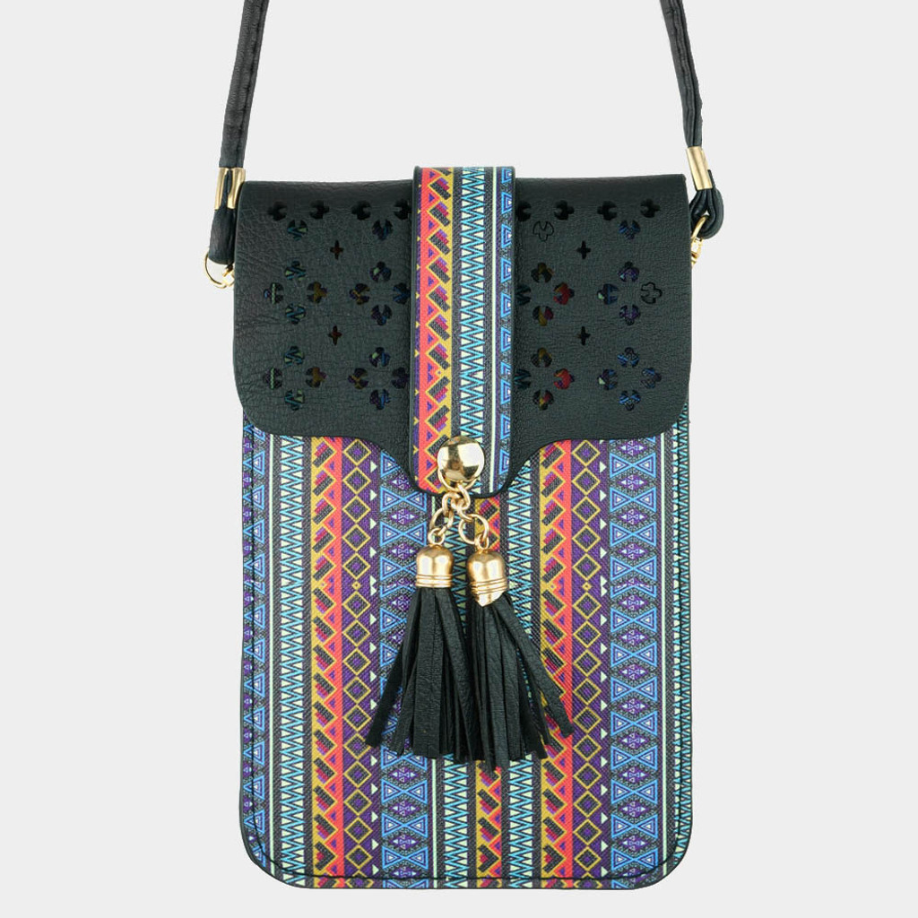Boho Chic Little Phone Cross Body Bag