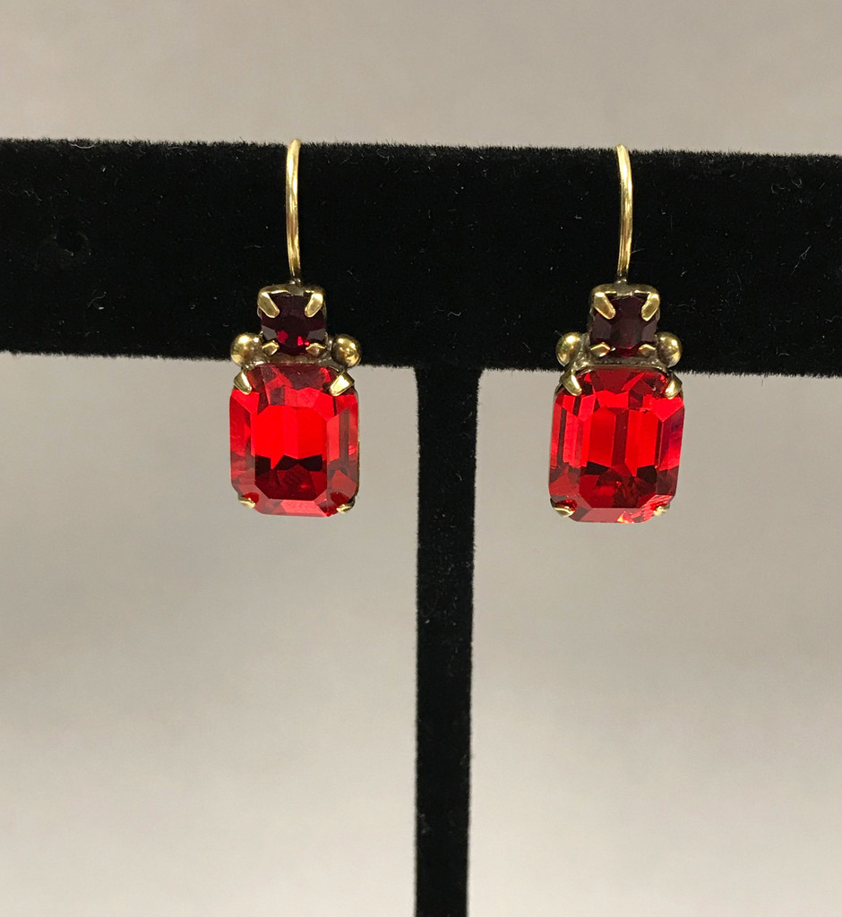 Sorrelli Red Hot Holiday French Wire Earring