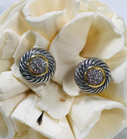 Larado's Twisted Cable Post Earrings
