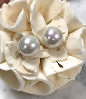 Basic Pearl Post Earring 10MM