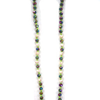 Zacasha's Bohemian Chic Crystals and Tassels Necklace