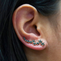 Black Diamond Celestial Ear Crawlers