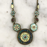 Alba Shades of Blue Necklace