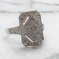 C.Z. Heirloom Ring