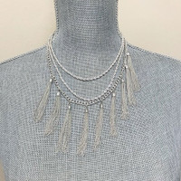 Lovin'My Tassels Necklace