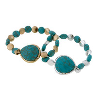 A Touch of Turquoise Bracelet