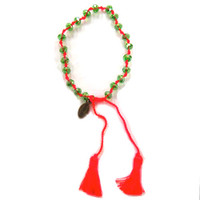 Zacasha's Bohemian Chic Crystals and Tassels Bracelet 3