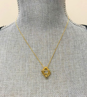 Prism Triangle Necklace G