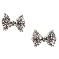 Lady-Like Bow Earrings